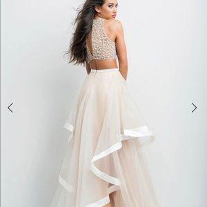 Beautiful Two piece Prom dress